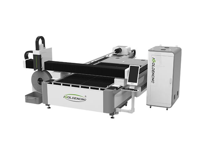 Zweifaser-Laser-Schneidemaschine IGR-FT
